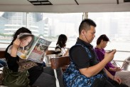 HONG KONG. Star Ferry. 2013.